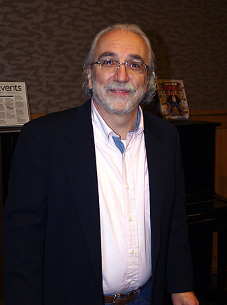 John Ficarra - Ficarra at a signing for Inside Mad at a Barnes & Noble in Manhattan