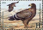 1119 (Sumiesny vypusk Biełarusi i Azierbajdžana. Redkija ptuški. Arły. Stepavy aroł.).jpg