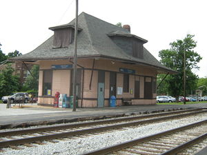 115th Street–Morgan Park (Metra station) - Image: 115th Street Morgan Park Metra Station