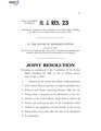 116th United States Congress H.J.Res. 023 (1st session) - Proposing an amendment to the Constitution of the United States extending the right to vote to citizens sixteen years of age or older.pdf