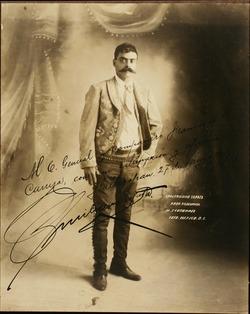 Emiliano Zapata, 1915.
