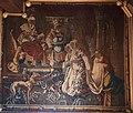124 Luzy Tapisserie dans la salle des mariages de la mairie (Histoire d'Esther, XVIIe).JPG