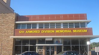 12th Armored Division (United States) - 12th Armored Division Memorial Museum