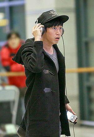 Tablo - Tablo at Incheon International Airport in January 2013