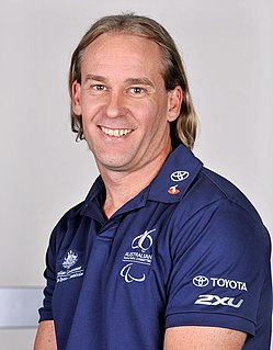 Nigel Barley (cyclist) Australian male cyclist Paralympian