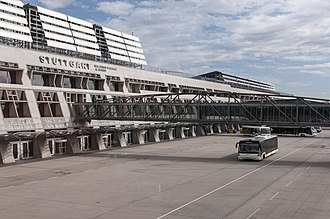 Stuttgart Airport - Apron view