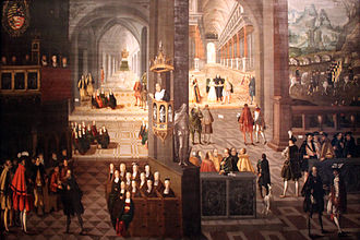 John Frederick I, Elector of Saxony - 28 scenes depicting the Protestant view of the life of the elector. Painting from 1630, Deutsches Historisches Museum Berlin