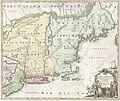 "1716 Homann Map of New England ""Nova Anglia"" - Geographicus - NovaAnglia-homann-1716.jpg"