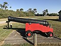 1798 Carron cannon, Fort Lytton 02.jpg