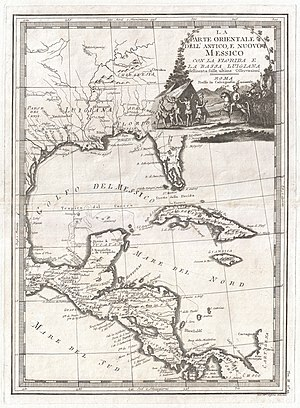 Central America - Central America, 1798