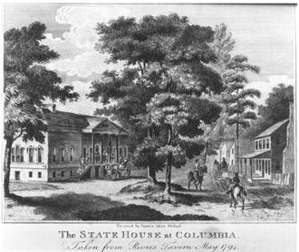 James Akin - Image: 1802 Columbia South Carolina by James Akin Winterthur