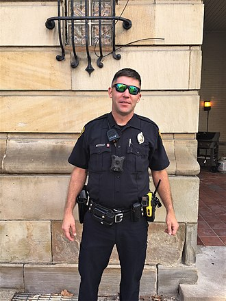 Pittsburgh Police - A PBP policeman