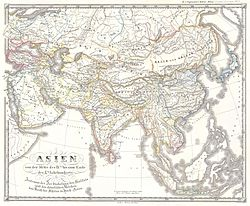 1855 Spruner Map of Asia in the 9th and 10th Centuries - Geographicus - AsienIXX-spruneri-1855.jpg