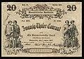 1857-03-01 Hannoversche Bank 20 Thaler Courant, Bildseite.jpg