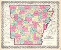 1859 Colton Map of Arkansas - Geographicus - Arkansas-colton-1860.jpg