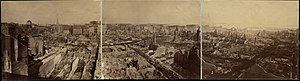 Edward L. Allen - Image: 1872 after fire Boston by Edward L Allen BPL 4926930574