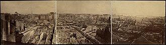 Edward L. Allen - Image: 1872 after fire Boston by Edward L Allen BPL 4926930574