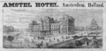 1885 Amstel Hotel Amsterdam ad Harpers Handbook for Travellers in Europe.png
