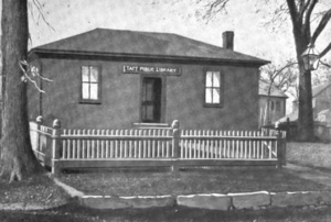 Mendon, Massachusetts - Taft Public Library, Mendon, 1899