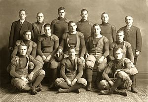 1908 Michigan Wolverines football team - Image: 1908 Michigan Wolverines football team