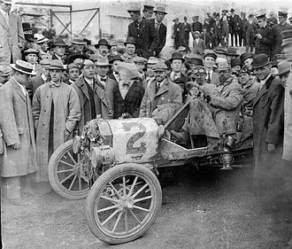 Ocean to Ocean Automobile Endurance Contest - 1909 Ford Model T Ocean-to-Ocean race winner