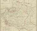 1920 Minsk detail map of Poland by Henryk Arctowski BPL 10105.png