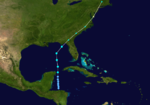 1924 Atlantic tropical storm 8 track.png