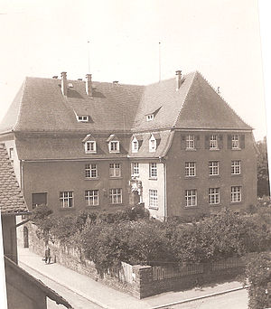 Laubach - Image: 1938 Laubach courthouse 300dpi