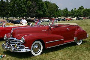 Pontiac - 1948 Pontiac Silver Streak Convertible Coupe