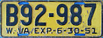 1951 West Virginia license plate.jpg