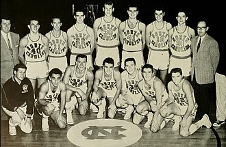 1956–57 North Carolina Tar Heels men's basketball team - Image: 1957 North Carolina