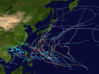 1958 Pacific typhoon season summary map.png