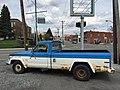 1978 Jeep J-10 pickup truck, 131-inch wb, 6200 lbs GVW, 258 CID six automatic blue-white 08.jpg