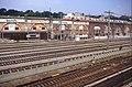 197R08180890 Blick von Gürtelautobahn, Stadtbahn (U6) Trasse Richtung Heiligenstadt, Typ E6, Gleise der Franz Josefs Bahn, Gleise der U Bahn Linie U4.jpg