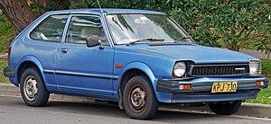 Honda Civic (second generation) - Image: 1980 Honda Civic 3 door hatchback (2010 07 22)