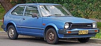 Honda Civic - Second-generation Civic hatchback