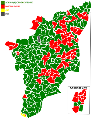 Tamil Nadu Legislative Assembly election, 1980 - Image: 1980 tamil nadu legislative election map
