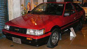 Toyota Corolla Levin and Toyota Sprinter Trueno - Image: 1983 Toyota Corolla Levin 01