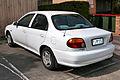 1998 Kia Mentor GLX sedan (2015-11-11).jpg
