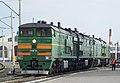 2ТЭ10М-3011, Россия, Омская область, депо Омск (Trainpix 160704).jpg