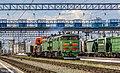 2ТЭ10М-3203, Россия, Томская область, станция Томск-II (Trainpix 168409).jpg