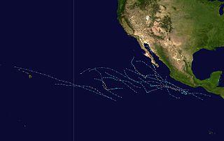 2001 Pacific hurricane season Period of formation of tropical cyclones in the Eastern Pacific Ocean in 2001