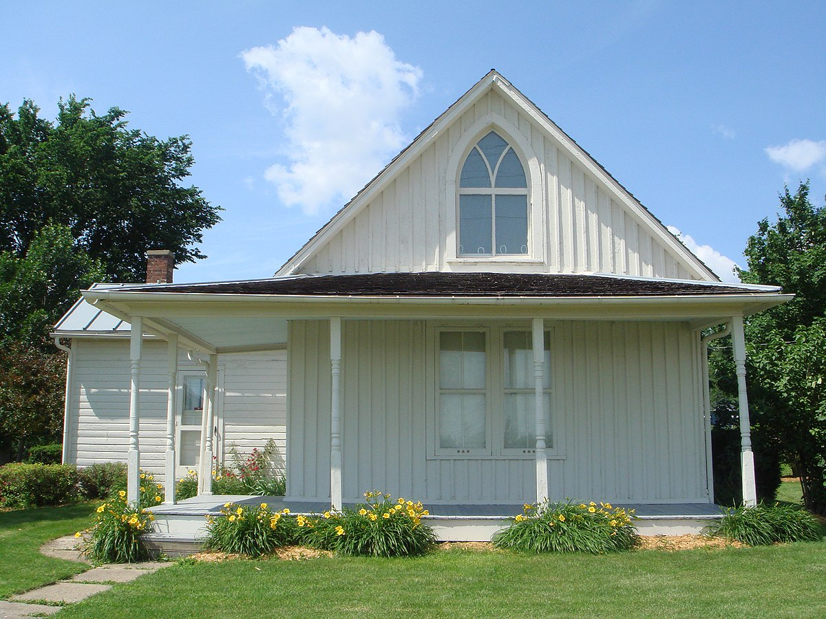 American Gothic House - Wikipedia