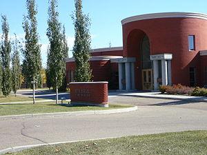Beth Israel Synagogue (Edmonton) - Beth Israel Synagogue in 2007