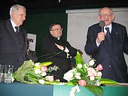 20070212 Wieslaw Chrzanowski and Jozef Zycinski and Wladyslaw Bartoszewski