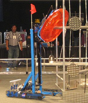 "Rack 'n Roll - ""Raptor"", Team 254's 2007 robot."