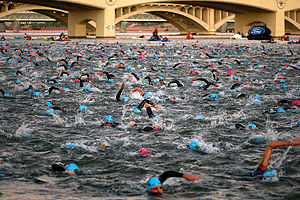 Tempe Town Lake - Ironman Arizona - Nov 23, 2008