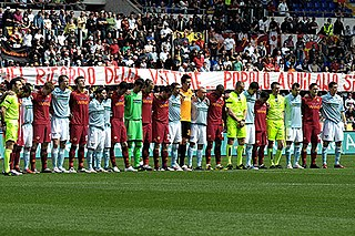 Derby della Capitale Club football rivalry in Rome, Italy