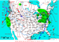 2009-02-22 Surface Weather Map NOAA.png