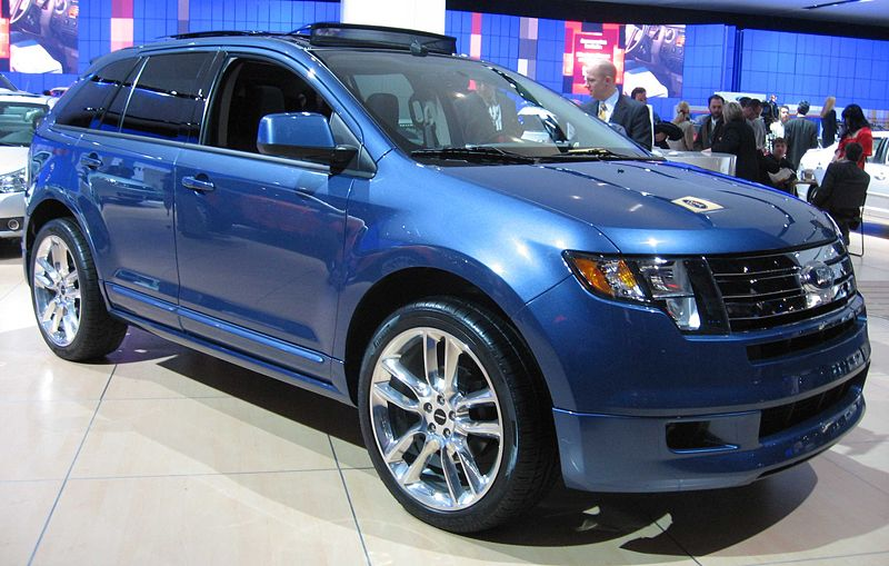 Ford Edge Paint Codes
